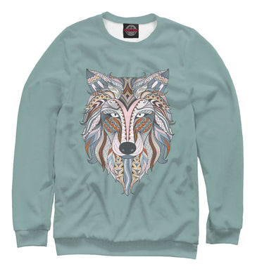 Sweatshirt Sweatshirt she wolf | VLF-615268-swi photo #1