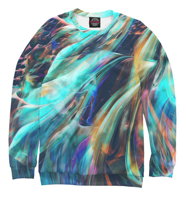 Sweatshirt Sweatshirt abstract waves | ABS-512858-swi photo #1