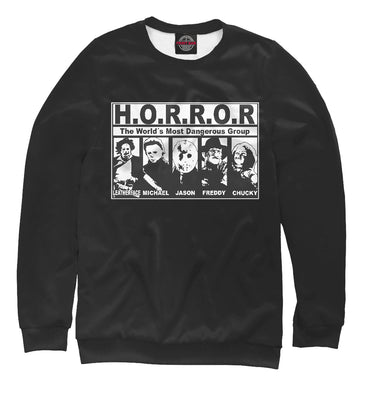 Sweatshirt Sweatshirt horror group | HOR-840661-swi photo #1