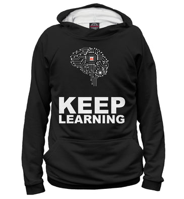 "Hoody Hoody v ai vђ"" keep learning 