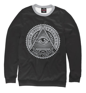 Sweatshirt Sweatshirt conspiracy theory | PSY-675333-swi photo #1
