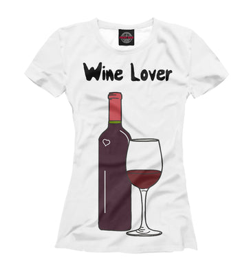 T-shirt T-shirt lover of wine | BAR-152022-fut-1 photo #1