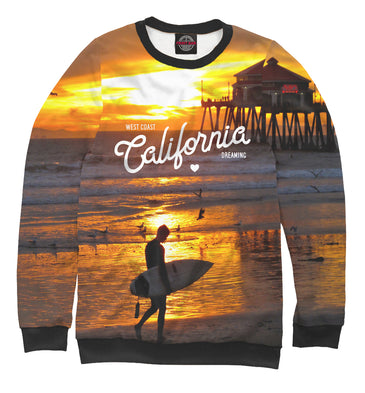 Sweatshirt Sweatshirt california | USA-885712-swi photo #1