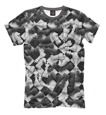 T-shirt T-shirt chess | CHS-114886-fut-2 photo #1