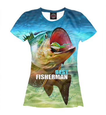 T-shirt T-shirt best fishermen | FSH-720725-fut-1 photo #1