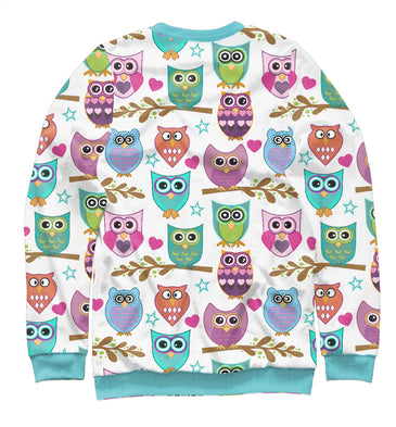 Sweatshirt Sweatshirt owls | OWL-757063-swi photo #2