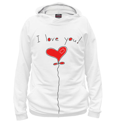 Hoody Hoody i love you | 14F-975556-hud photo #1