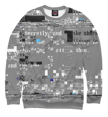 Sweatshirt Sweatshirt bug | HIP-789739-swi photo #1