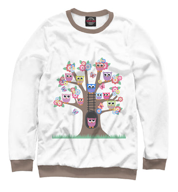 Sweatshirt Sweatshirt owl house | OWL-798096-swi photo #1