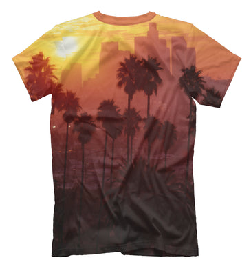 T-shirt T-shirt los angeles | USA-156425-fut-2 photo #2