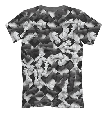 T-shirt T-shirt chess | CHS-114886-fut-2 photo #2