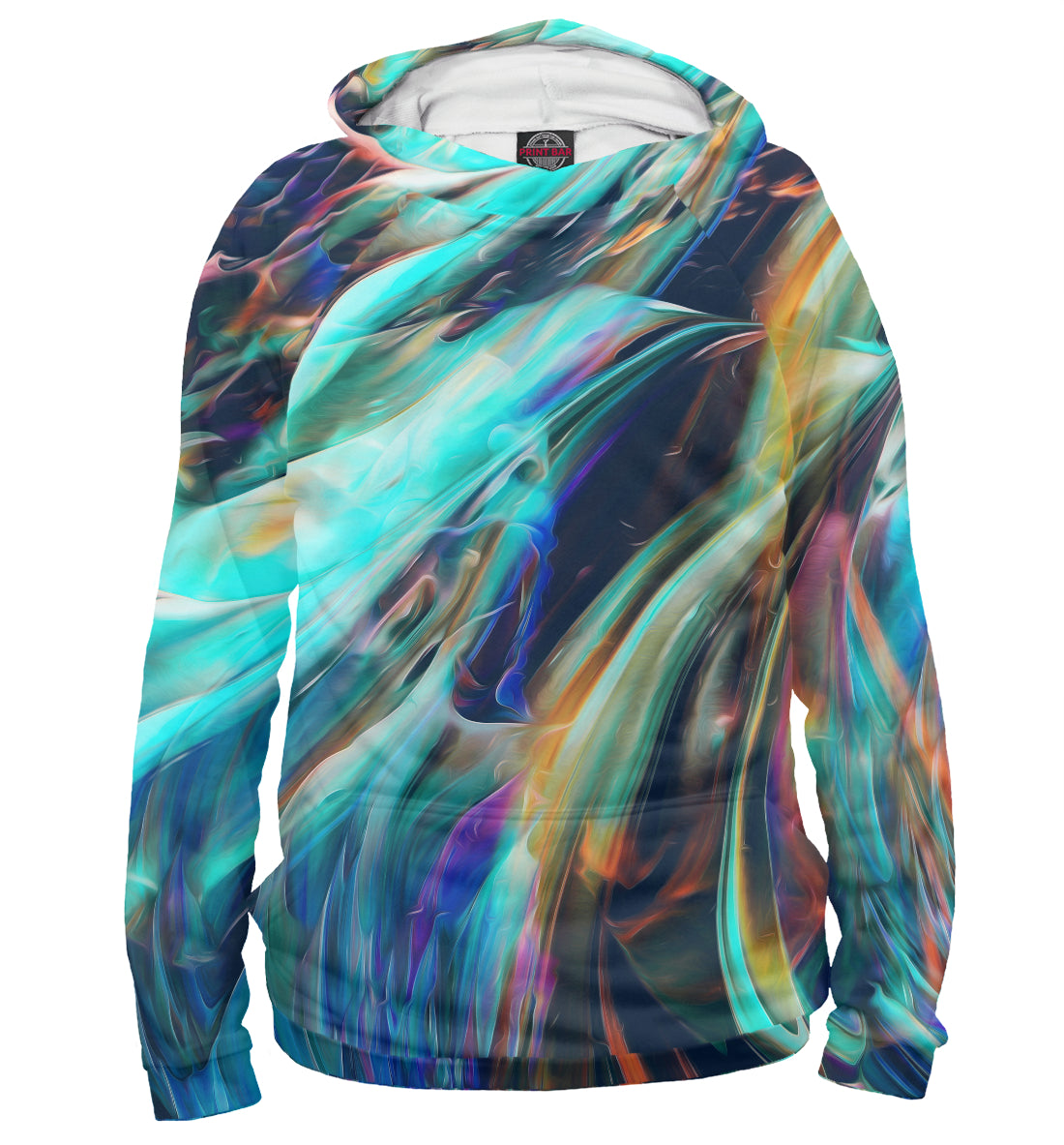 Hoody abstract waves | ABS-512858-hud