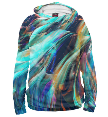 Hoody Hoody abstract waves | ABS-512858-hud photo #1