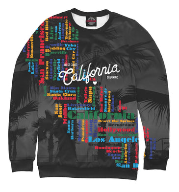 Sweatshirt Sweatshirt california | USA-848327-swi photo #1