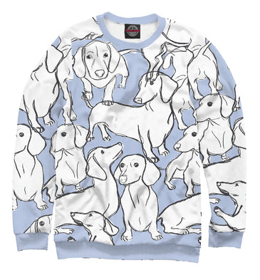Sweatshirt Sweatshirt dachshunds | DOG-836645-swi photo #1