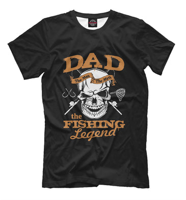 T-shirt T-shirt grandfather legend of fishing | FSH-897330-fut-2 photo #1