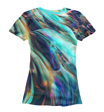 T-shirt T-shirt abstract waves | ABS-512858-fut-1 photo #2