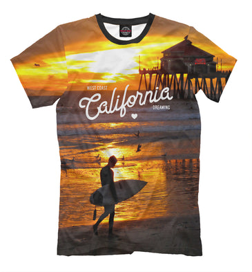 T-shirt T-shirt california | USA-885712-fut-2 photo #1