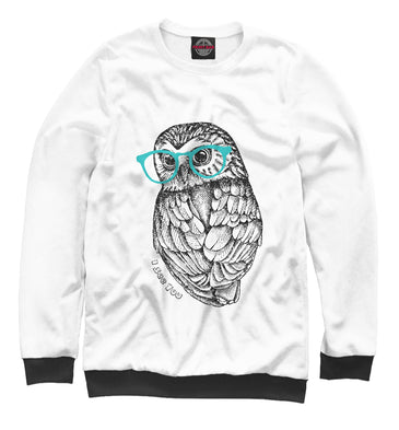 Sweatshirt Sweatshirt i see you | OWL-736224-swi photo #1