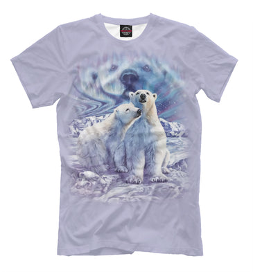 T-shirt T-shirt white bears | MED-616789-fut-2 photo #1