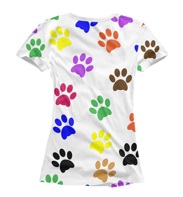 T-shirt T-shirt rўanine footprints | DOG-554887-fut-1 photo #2