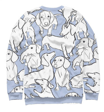 Sweatshirt Sweatshirt dachshunds | DOG-836645-swi photo #2