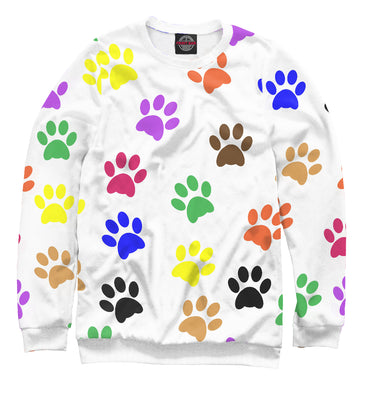 Sweatshirt Sweatshirt rўanine footprints | DOG-554887-swi photo #1
