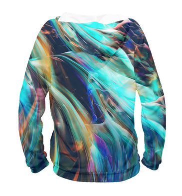 Hoody Hoody abstract waves | ABS-512858-hud photo #2