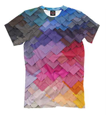 T-shirt T-shirt v 3d envelopes | GEO-874475-fut-2 photo #1