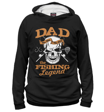 Hoody Hoody grandfather legend of fishing | FSH-897330-hud photo #1