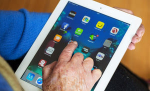 Elderly Tablet Users Face Double The Risk Of Injuring Themselves