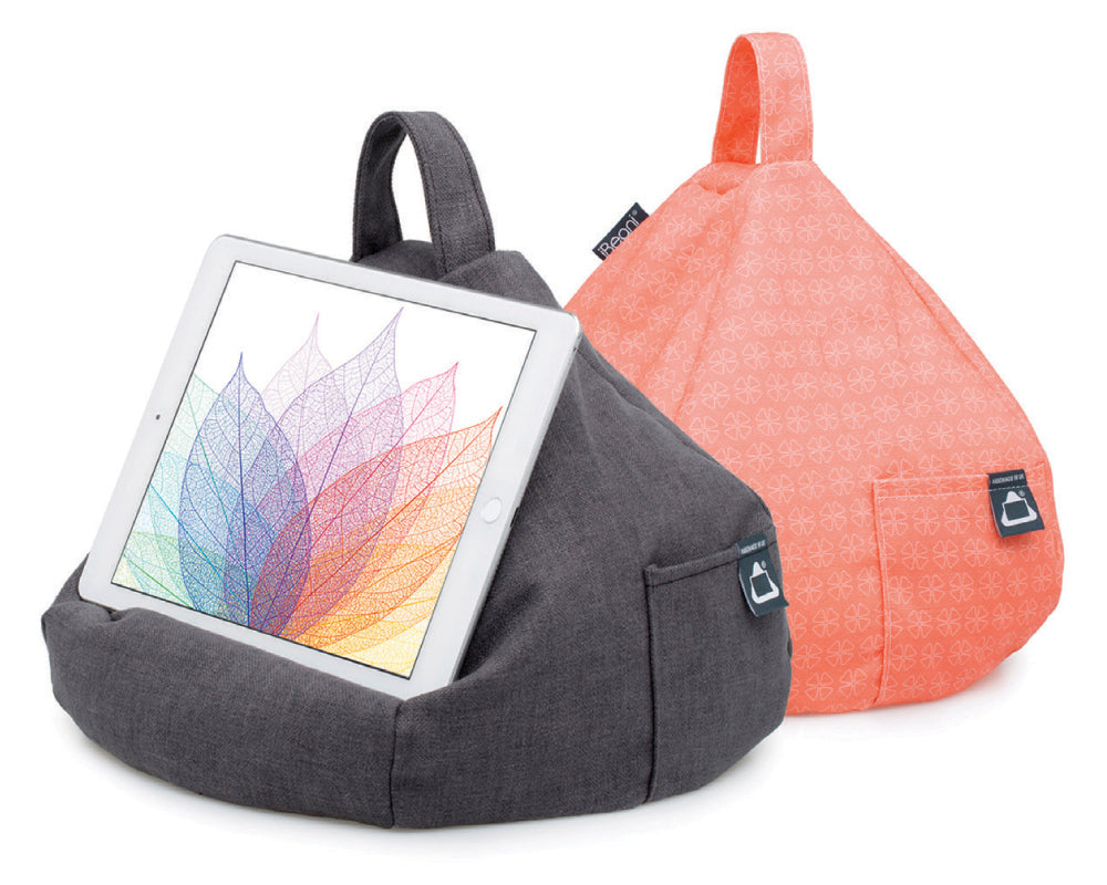 iBeani award-winning tablet bean bag stands