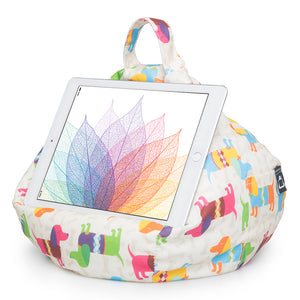 iPad, Tablet & eReader Bean Bag Stand by iBeani - Dachshund