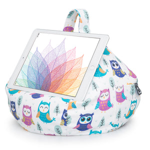iPad, Tablet & eReader Bean Bag Cushion by iBeani - Owl