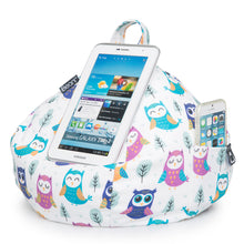 Load image into Gallery viewer, iPad, Tablet & eReader Bean Bag Cushion by iBeani - Owl