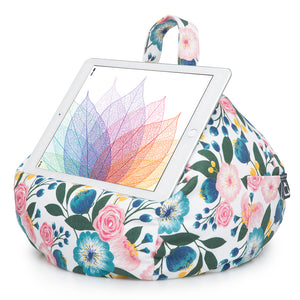iPad, Tablet & eReader Bean Bag Cushion by iBeani - Floral