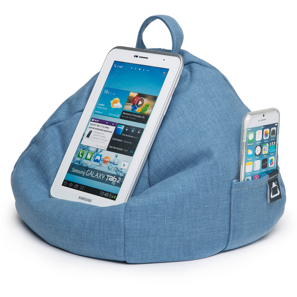 Ipad Tablet Bean Bag Stands Securely Holds Any Size Device Ibeani