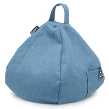 Load image into Gallery viewer, iPad, Tablet & eReader Bean Bag Stand by iBeani - Denim Blue
