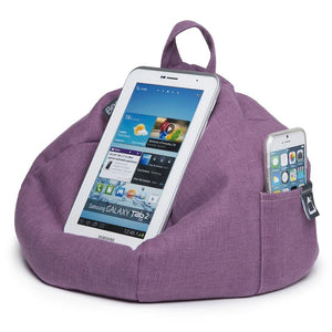 iPad, Tablet & eReader Bean Bag Stand by iBeani - Purple