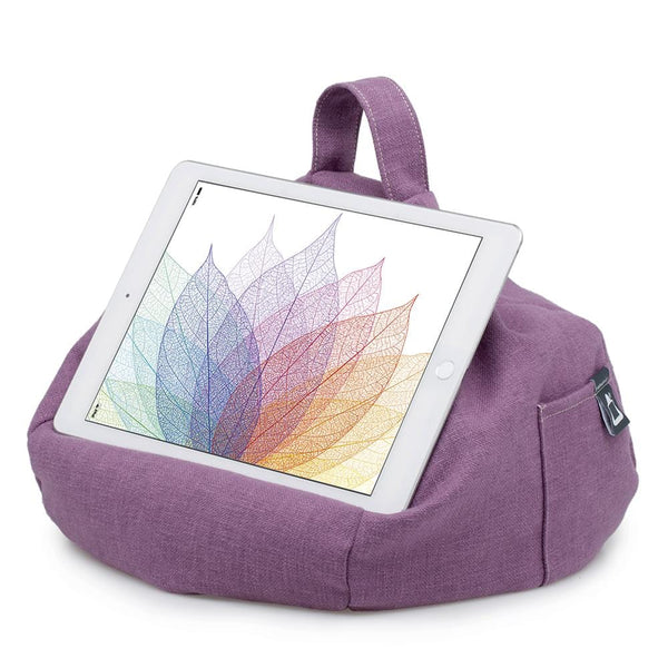 Purple Tablet Amp Ipad Bean Bag Stand Ibeani