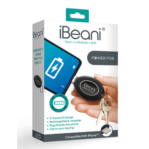 iBeani Power Fob Mobile Charger for iPhone Devices