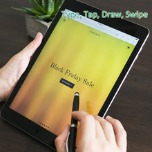 Load image into Gallery viewer, 2 in 1 Soft Touch Universal Stylus for Tablet & Mobile by iBeani