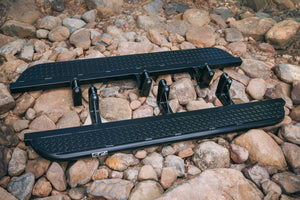 SCF Rock Slider w/ Checker Plate Step