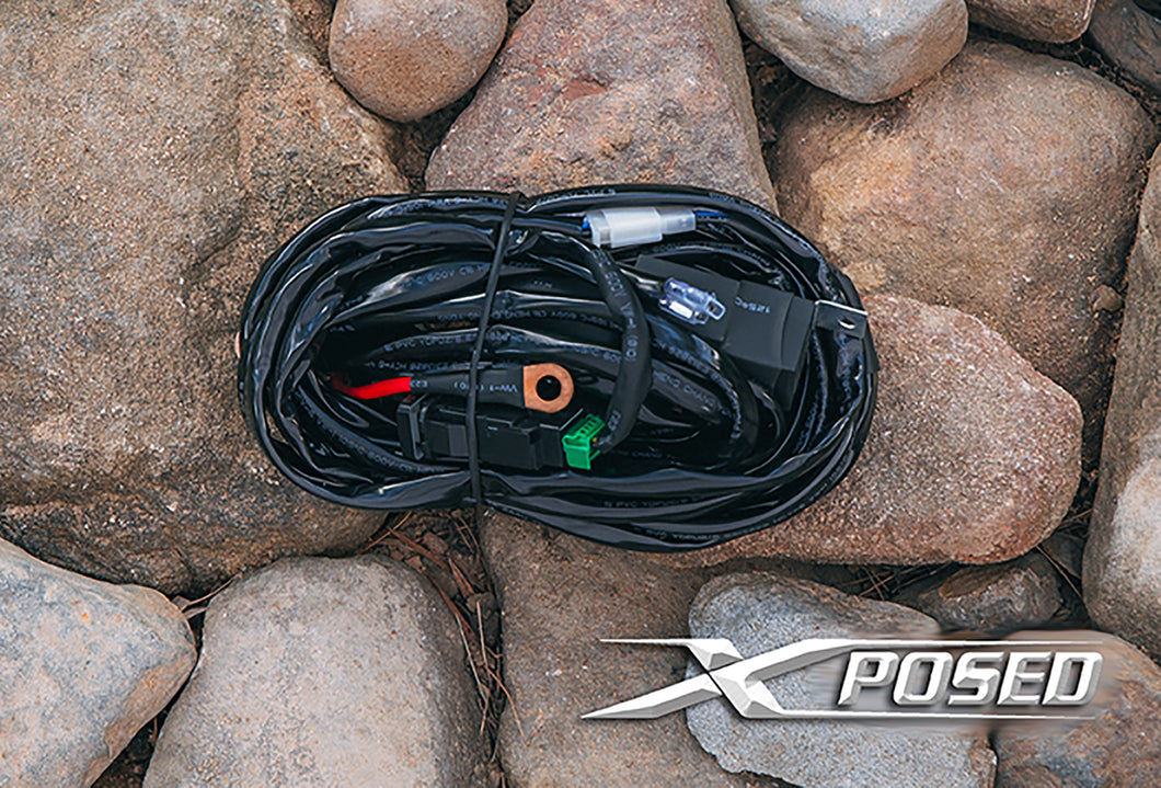 XPOSED LIGHTING - Wiring Harness 40amp