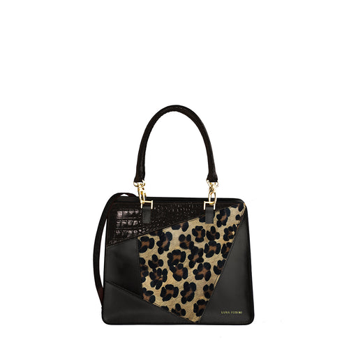 Allegra Medium - Leopard Black