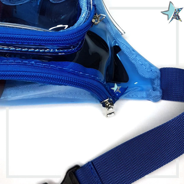 Clear Blue Fanny Pack - Starlight