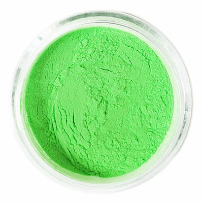 Green Neon pigment GLOW UNDER BLACK LIGHT - Starlight