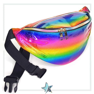 Cosmic Rainbow Holographic Fanny Pack