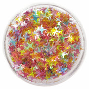 Confetti 4-Point Star Glitter - Starlight