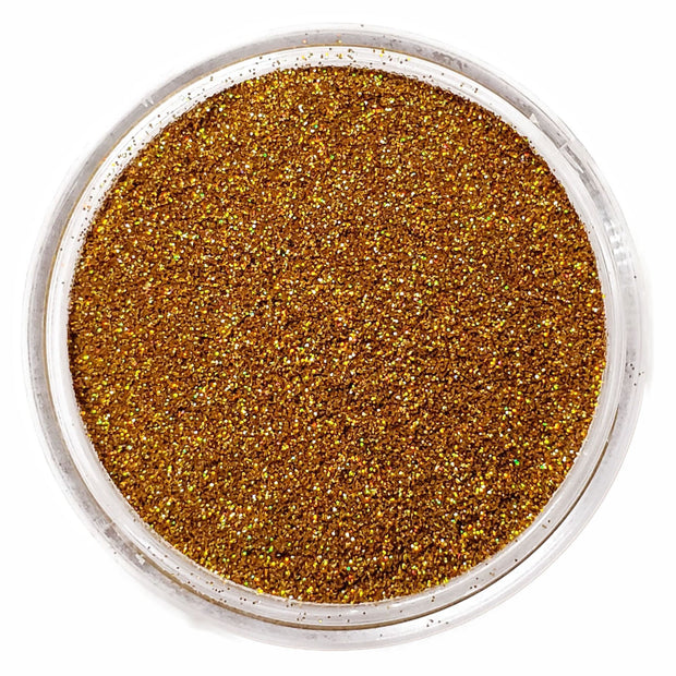 Holographic Gold fine glitter powder  - Starlight
